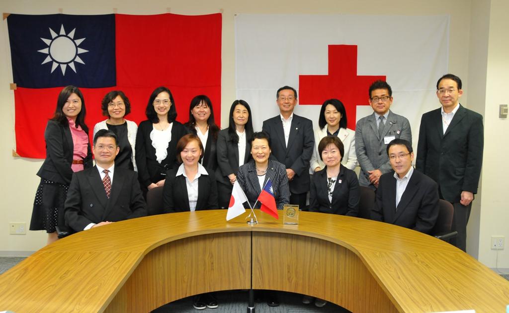 與日本紅十字秋田看護大學簽定國際交流盟約